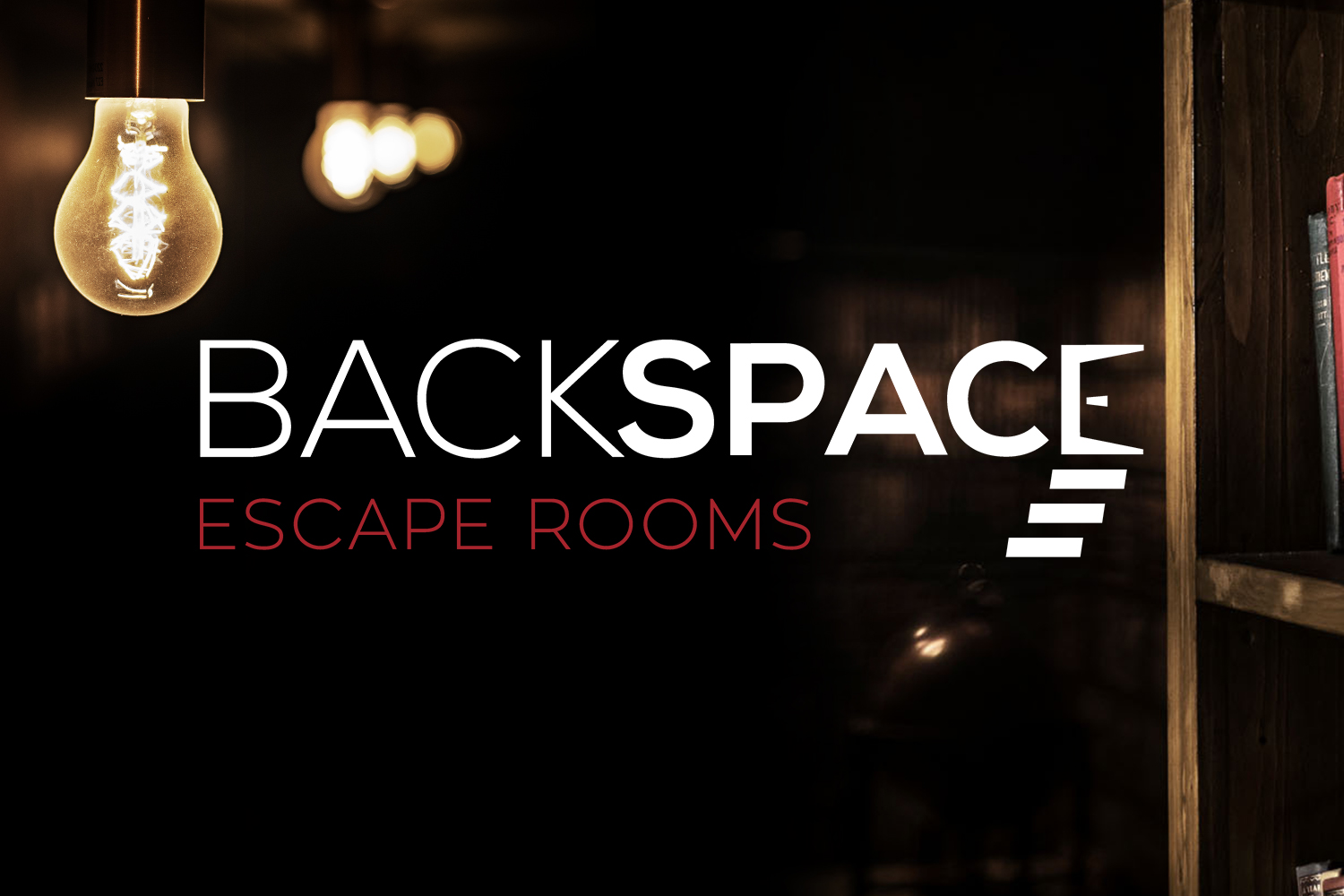 Backspace escape rooms